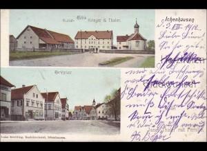 Bayern: Ansichtskarte: Ichenhausen