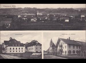 Bayern: Ansichtskarte: Vagen Oberbayern