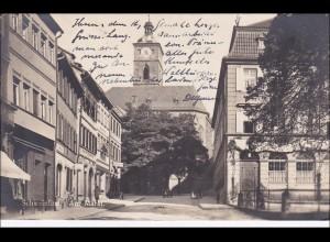 Bayern: Ansichtskarte: Schweinfurth