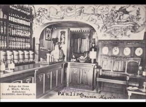 Bayern alte Ansichtskarte aus Bamberg