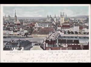 Bayern: Ansichtskarte: Würzburg