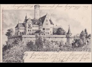Bayern: Ansichtskarte: Bamberg - Altenburg