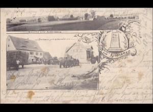 Bayern: Ansichtskarte: Gruss aus Altenberg