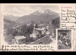 Bayern: Ansichtskarte: Berchtesgaden