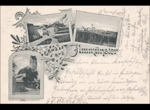 Bayern: Ansichtskarte: Ilmmünster