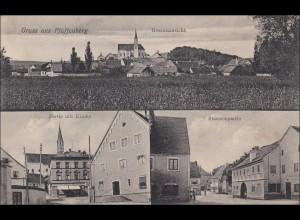 Bayern: Ansichtskarte: Gruss aus Pfaffenberg