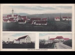 Bayern: Ansichtskarte: Kirchdorf-Rudelzhausen