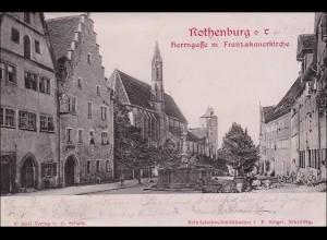 Bayern: Ansichtskarte: Rothenburg ob der Tauber