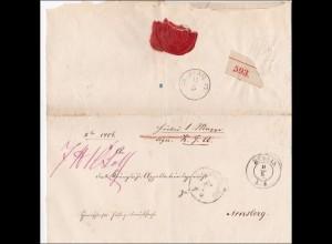 NDP: Brief von Berlla nach Arnsberg