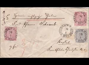 NDP: Brief von Steinbach Hallberg 1870