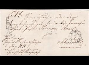 Preussen: Brief von Reichenbach nach Schweidnitz