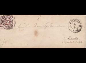 Thurn und Taxis: Brief von Nr. 17 ( 273 )