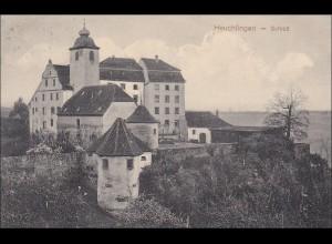 Württemberg: Ansichtskarte heuchlingen - Schloß nach Bad Aibling