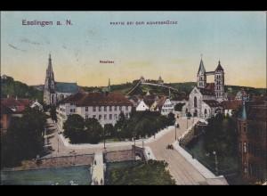 Württemberg: Ansichtskarte Esslingen nach Ottenheim