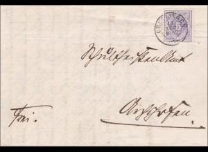 Württemberg: Brief von CREGLINGEN 1882