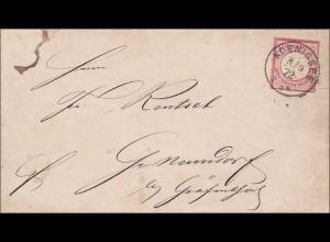 Brief von Königsee 1872