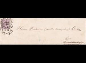 Orts-Brief von Braunschweig 1885