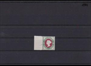 Helgoland MiNr. 16I, ** postfrisch, vom linken Seitenrand