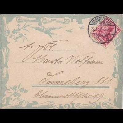 Germania: Brief von Meiningen 1917