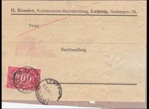 Inflation: Adressteil von Leipzig 923