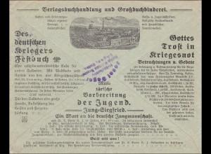 Brief von Kevelaer nach Engen 1916