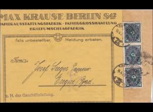 Weimar: Adressteil von Berlin