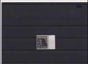 SBZ MiNr. 182 c, ** postfrisch, vom rechten Rand, signiert Paul BPP