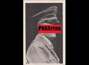 III. Reich: Ansichtskarte A.H. zur Wahl in Wien 1938 - 2 verschiedene Stempel