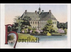 III. Reich: Ansichtskarte von Hovelstadt an Arbeitslager Ochting/Westfalen 1940