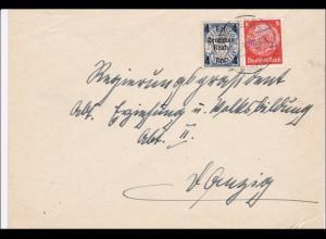 III. Reich: Brief von 1940