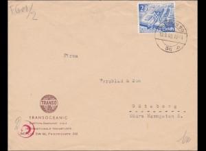 III. Reich: Brief von Berlin nach Göteborg 1940, Zensur