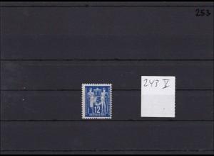 DDR MiNr. 243V, ** postfrisch