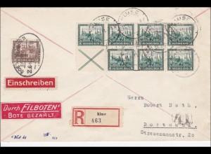Brief Einschreiben/Eilboten von Kluse nach Dortmund 1931