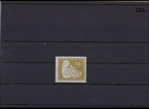DDR MiNr. 257 II, ** postfrisch