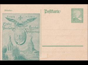 Ganzsache 1925 Erster Deutscher Reichskriegertag