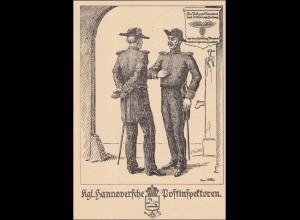 Ganzsache Briefmarken Ausstellung Hannover 1938