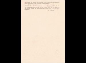 Ganzsache 1. Werbeausstellung Spremberg Niederlausitz 1937