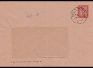 Ganzsache von Berlin Hermsdorf 10.4.1943, Städtische Wasserwerke