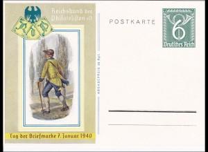 Ganzsache: Tag der Briefmarke 1940