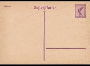 Ganzsache: Luftpostkarte P168