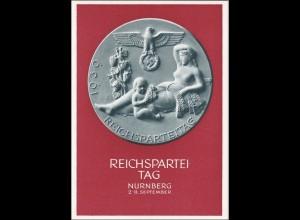 Ganzsache: Propaganda Karte zum Reichsparteitag 1939