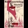 Propaganda Karte: Reichsparteitag Nürnberg 1934 mit Werbestempel