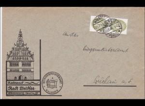DR Dienst: Rathaus Stadt Waldsee nach Buchau 1934