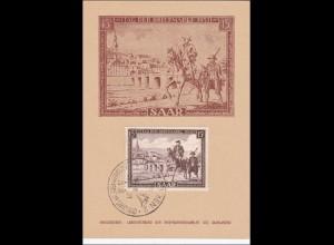 Saarland: Tag der Briefmarke 1951