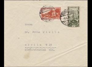 Saar: Neunkirchen 1929 nach Berlin