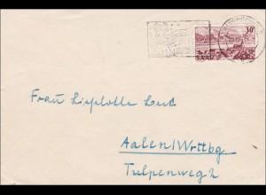 Saar: 1951 von Saarbrücken nach Aalen