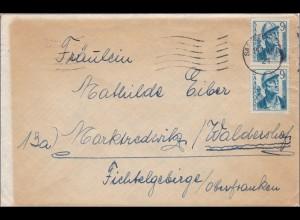 Saar: 1948 Saarbrücken nach Waldershof