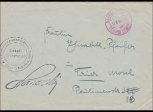 Saarbrücken 1945 Regierungspräsidium nach Trier