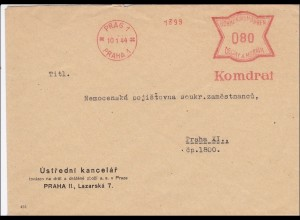 B&M: 1944 Freistempel Prag