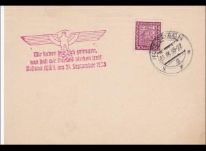 B&M: Rossbach 1938 - Propagandastempel